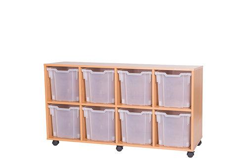 8 Jumbo Tray Quad (A14199)