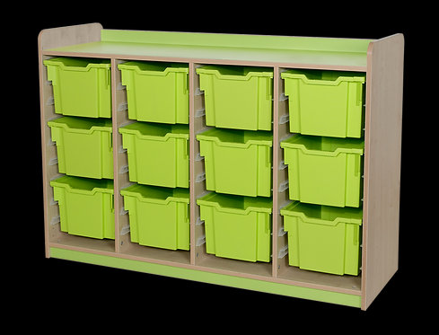 KubbyClass Triple Column Combination Tray Unit (12x X3 Trays)