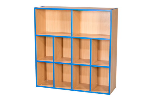 3 Tier 2+4+4 Shelf Unit