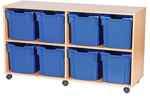 8 Jumbo Tray Quad (A14205)