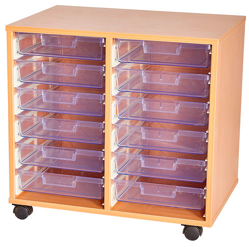 Crystal Clear 12 Tray Double