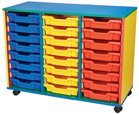 24 Tray Mobile Double Unit