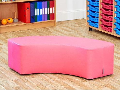 Large Curve Foam Seat