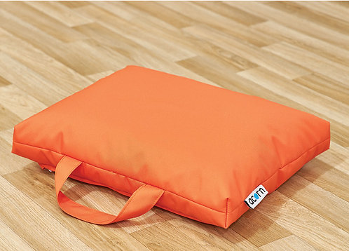 Wide Deep Floor Bean Cushions - Set of Eight