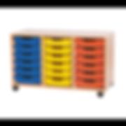 Classroom Tray Storage Unit
