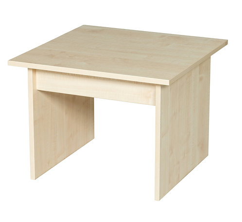 600mm Wide Coffee Table - Maple Wood/Maple Edge