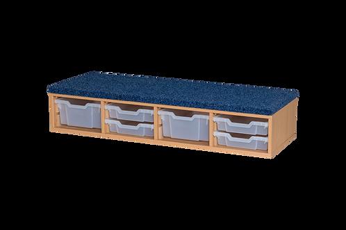 Classroom Step - includes  2 x Deep & 4 x Shallow Trays