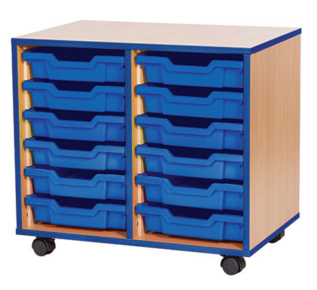 12 Tray Mobile Double Unit
