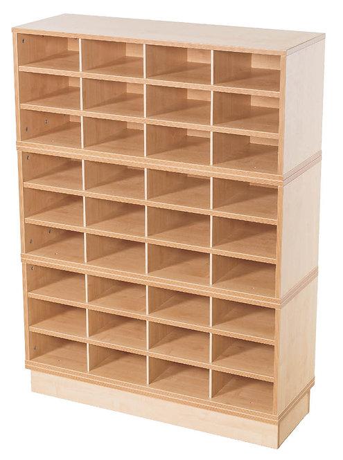 KubbyClass 36 Space A4 Fixed Shelf Unit