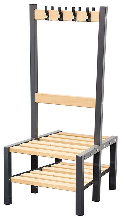 600mm Seat with Shoe Rack
