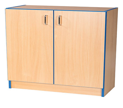 750mm Wide Library Flat Top Bookcase Cupboard with Adjustable Shelves