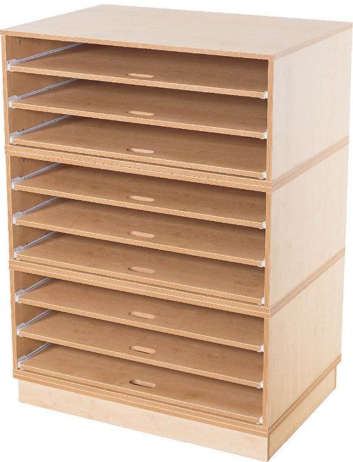 KubbyClass A1 9x Fixed Shelf Unit