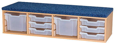 Classroom Step - includes  2 x Extra Deep & 6 x Shallow Trays
