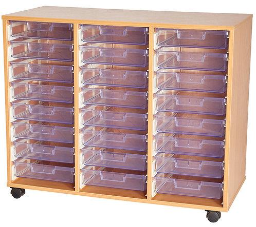 Crystal Clear 24 Tray Quad