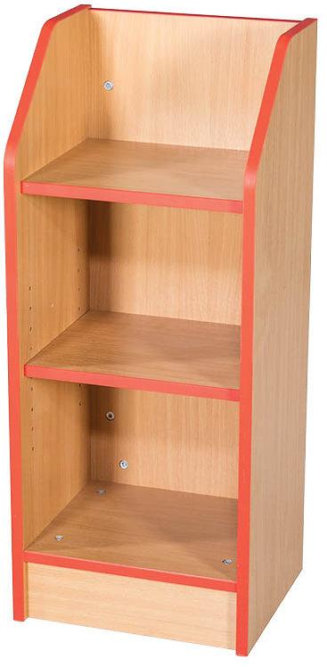 375mm Wide Slimline Bookcase with Adjustable Shelves