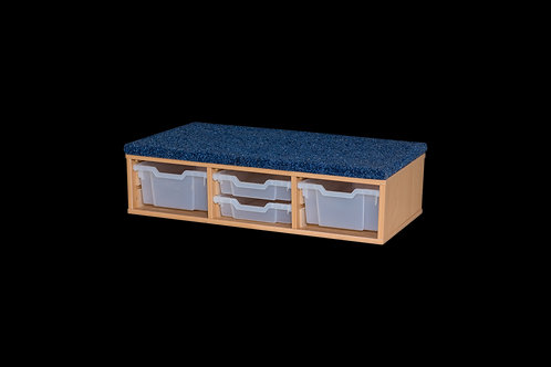 Classroom Step - includes  2 x Deep & 2 x Shallow Trays
