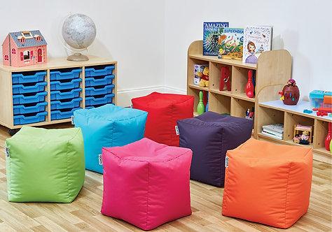Bean Cube Seat - Set of Six