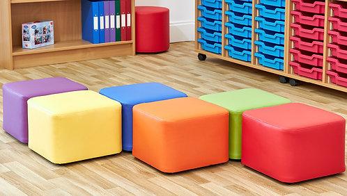 Cube Foam Seats - Set of Six