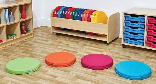 Circular Foam Seat Pad - Set of Twenty