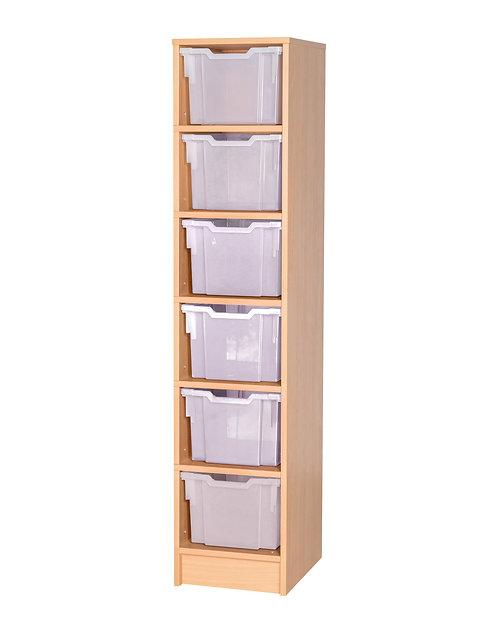6 Tray Uniform Storage