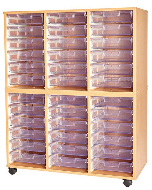 Crystal Clear 36 Tray Triple