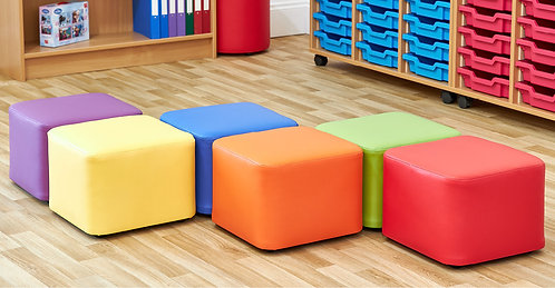 Cube Foam Seats - Set of Six