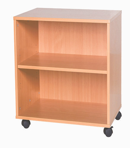 5 High Double Open Shelf