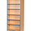 Thumbnail: 750mm Wide Double Sided Flat Top Bookcase with Adjustable Shelves