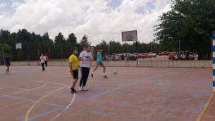 Fútbol  en Virrey Morcillo Profesores vs alumnos