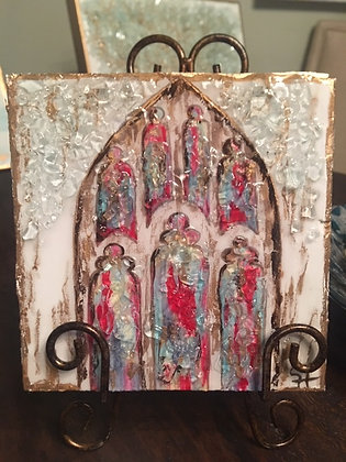Stained Glass on Wood or Canvas
