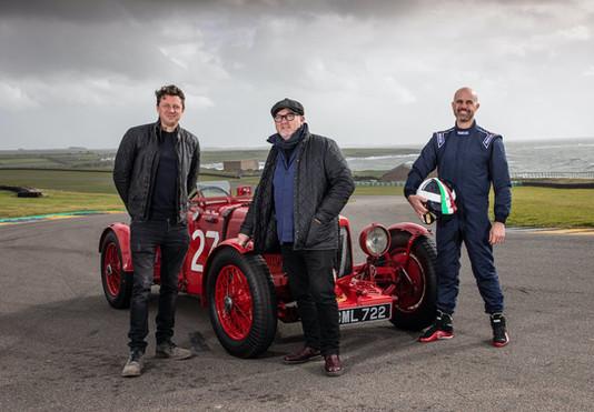Three Men Four Wheels