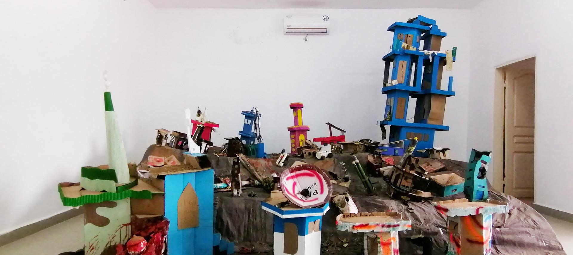Les 3 salles d'expositions