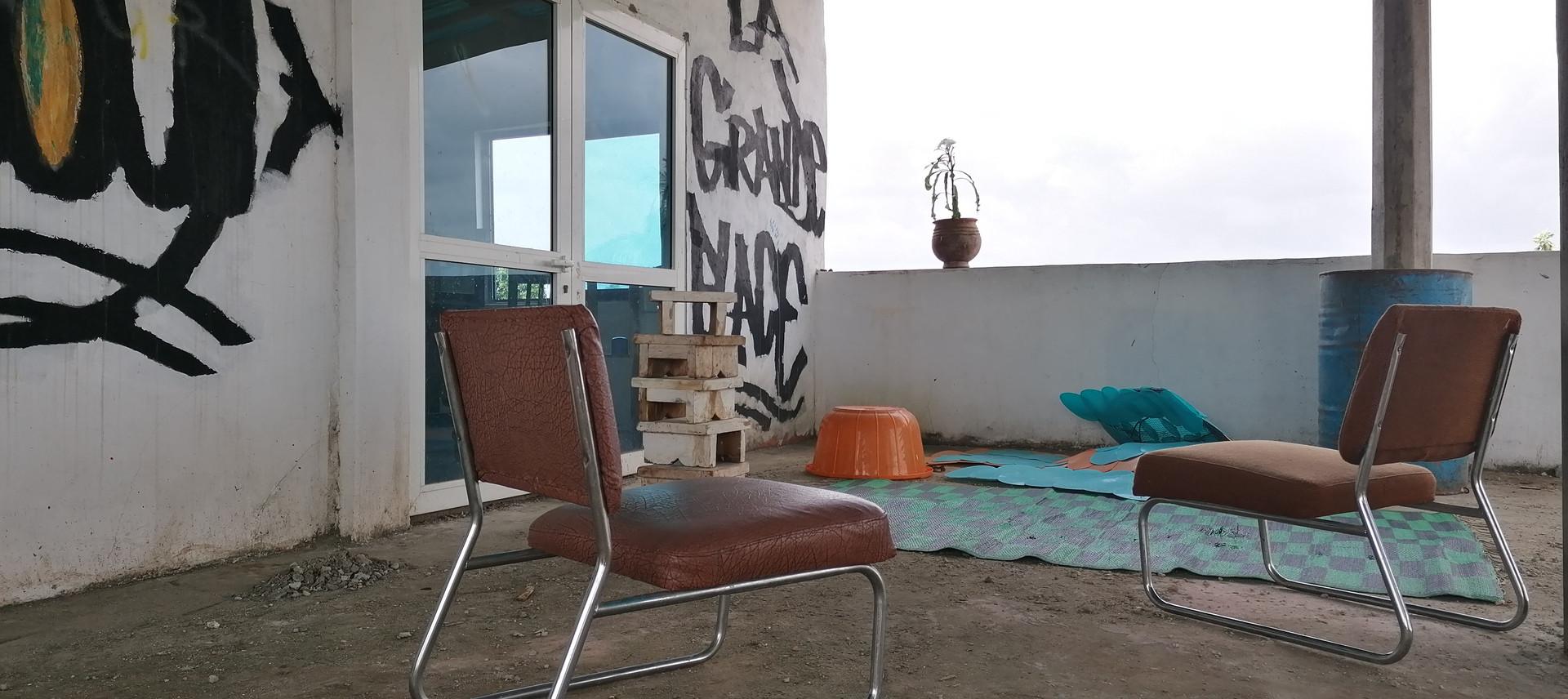Terrasse polyvalente