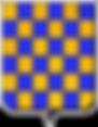 Armes Durat Echiquete_or_azur12256.png