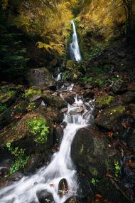 Cascade de Pérouse dans la Vallée de Chaudefour.