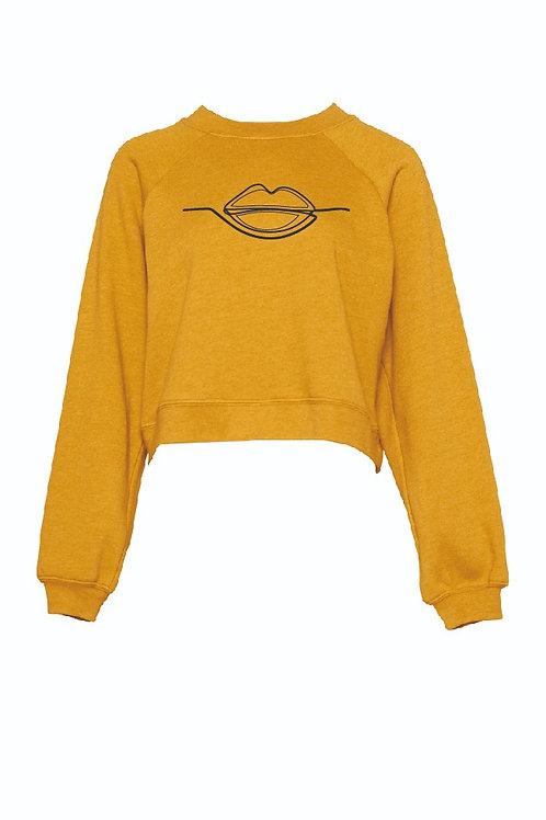 Sketched Lip Fleece