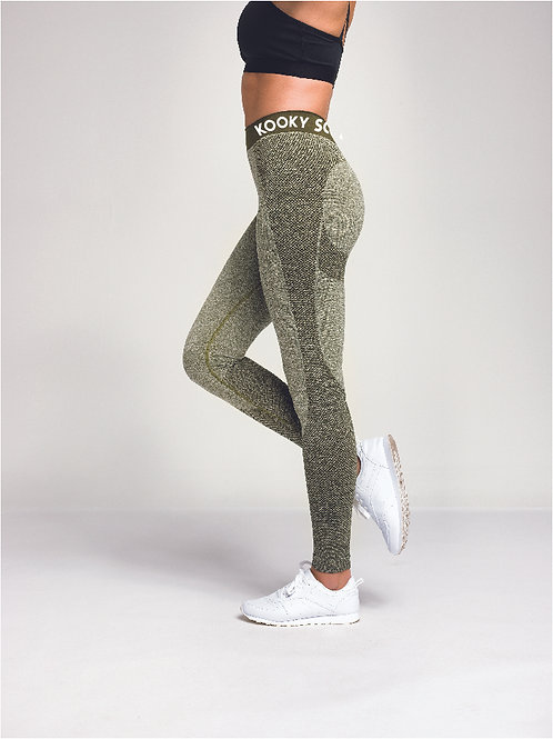 Seamless '3D' Fit Compression Leggings