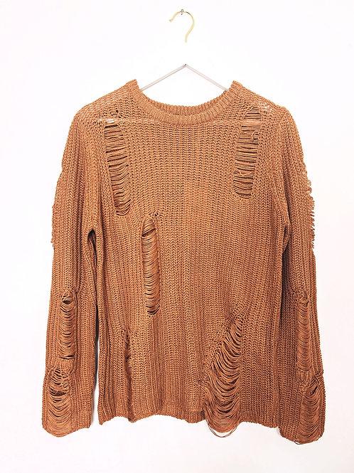 Terracotta Hippie Soul Knit