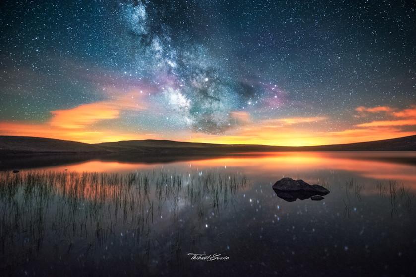 Lac d'en Haut à la Godivelle
