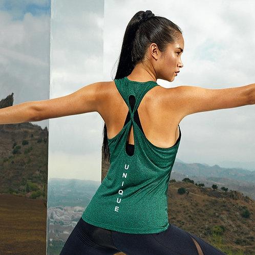 Knot Back Yoga Vest