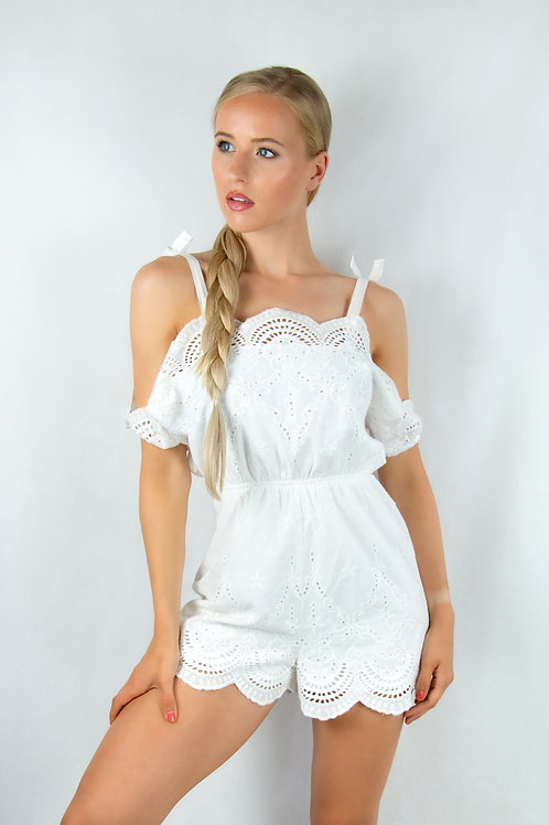 Chic Cold Shoulder Playsuit