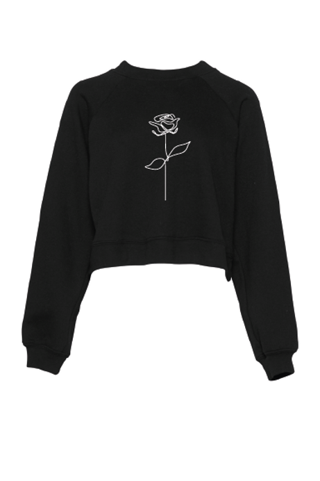 No Rose Without Thorns Fleece