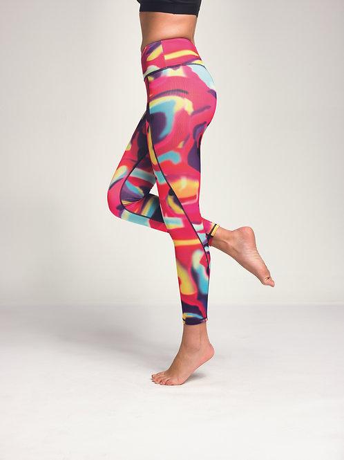 Aurora Performance Leggings Pink