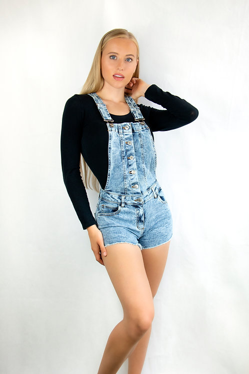 Distressed Dungarees