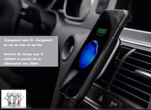 Chargeur induction auto