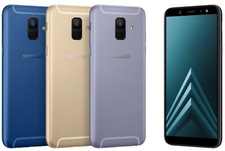 Samsung A6 294,90€ ttc