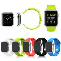 Bracelet apple watch silicone