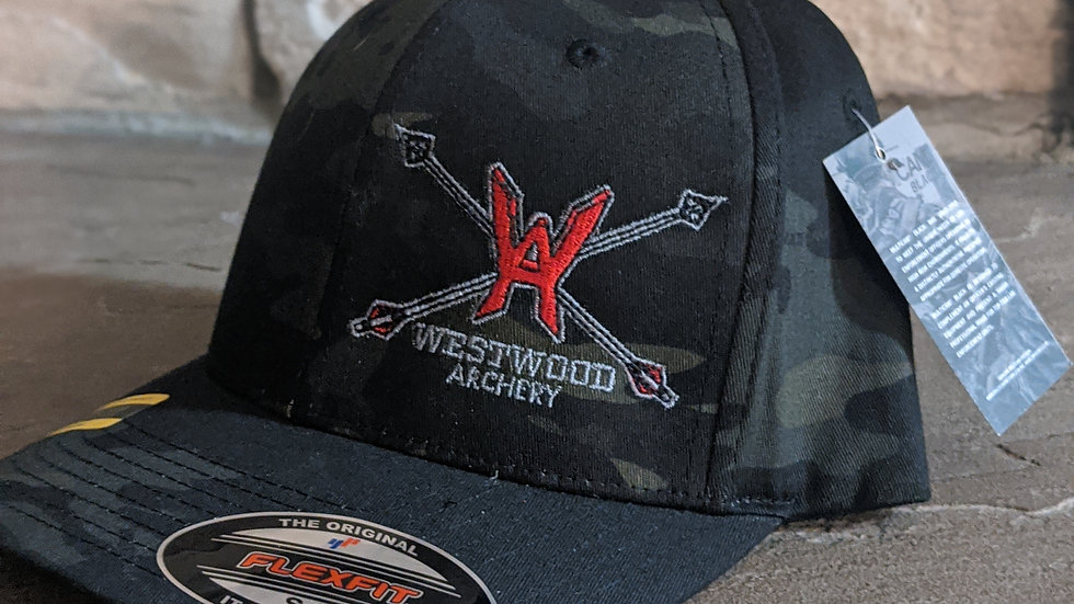 Westwood Archery Flexfit Hat - Camo