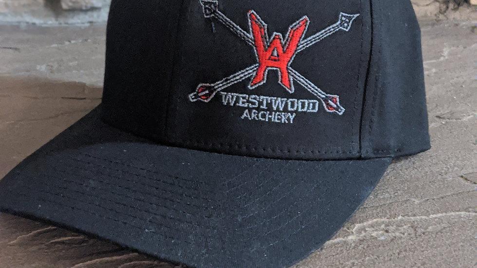 Westwood Archery Flexfit Hat - Black