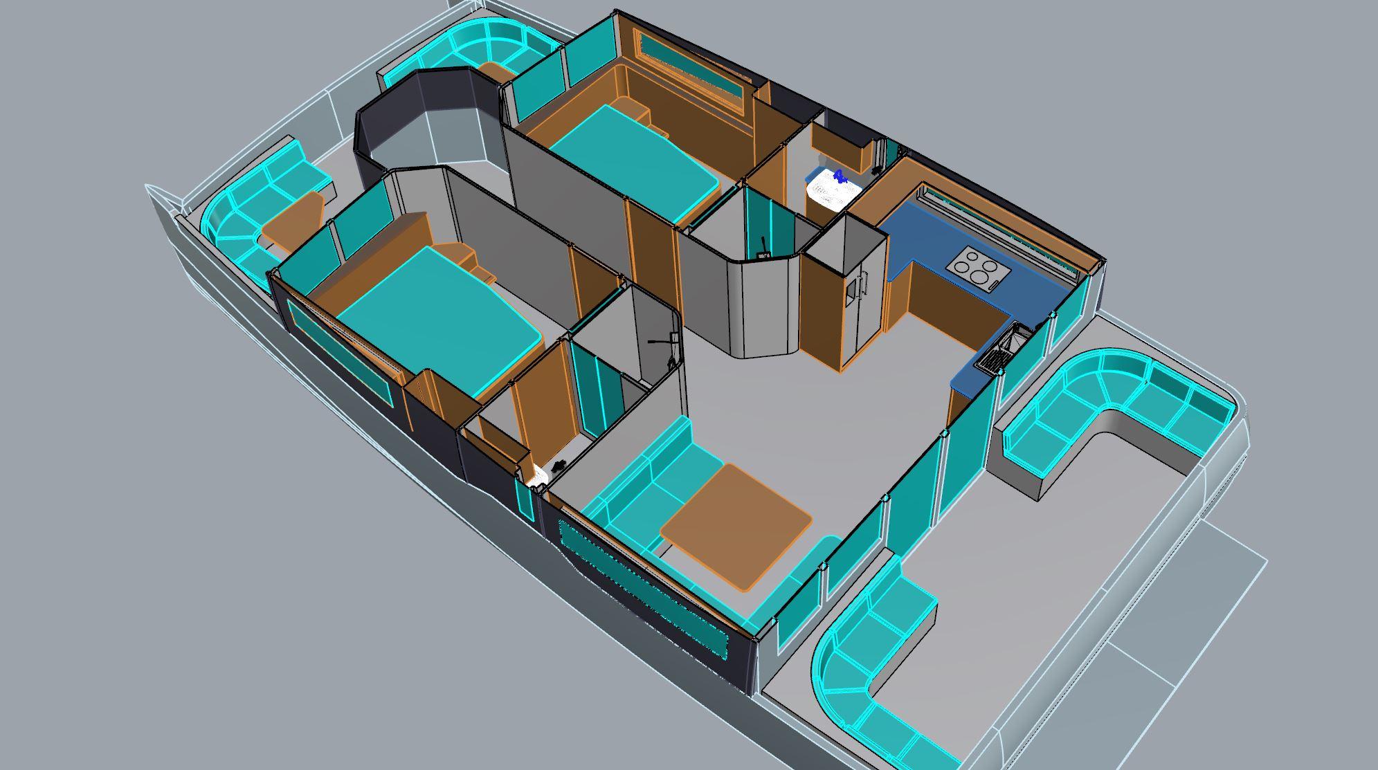 Smart House Boat 40